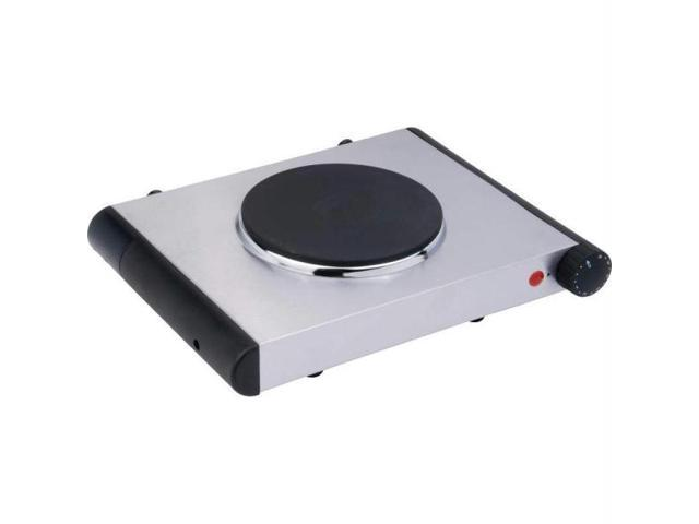 Maxam KTELSB2 Maxam Electric Cast Iron Single Burner Hotplate