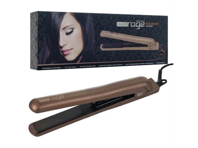 HAIR Rage Pro Salon Model Flat Iron - Gunmetal