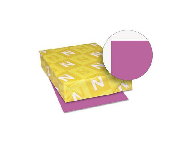 Wausau Papers 22673 Astrobrights Colored Paper, 24lb, 11 x 17, Planetary Purple, 500 Sheets-Ream