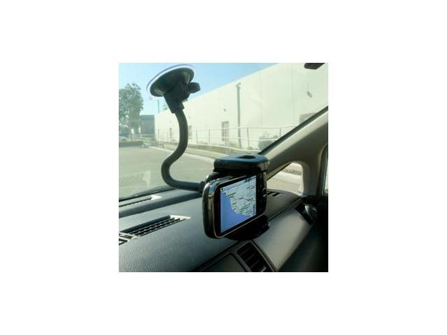 Bracketron BKT-HDR-PHW203BL Bracketron Mobile Grip-iT Rotating Windshield Mount - PHwith203-BL