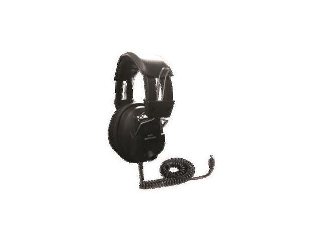 Avid Products AE-808BLACK Over-Ear Headphones with Volume Control Black