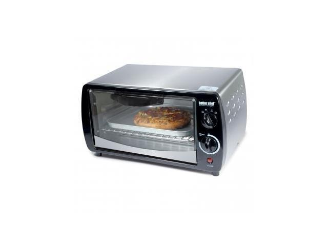 BETTER CHEF IM-269SB Large Capacity 9-liter Toaster Oven- Silver