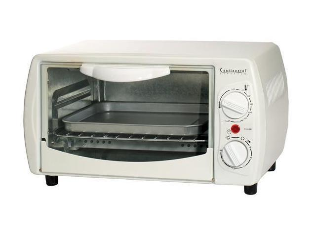 CONTINENTAL ELECTRIC CE23551 4-SLICE TOASTER OVEN
