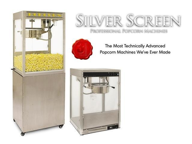 Benchmark USA 30147 Pedestal for Silver Screen Popcorn Machine - 14 Oz