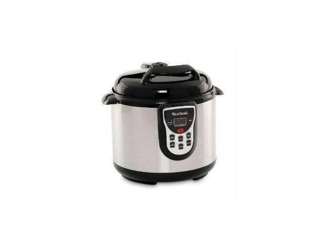 Westbend 82011 6Qt Stainless Elec. Pressure Cooker