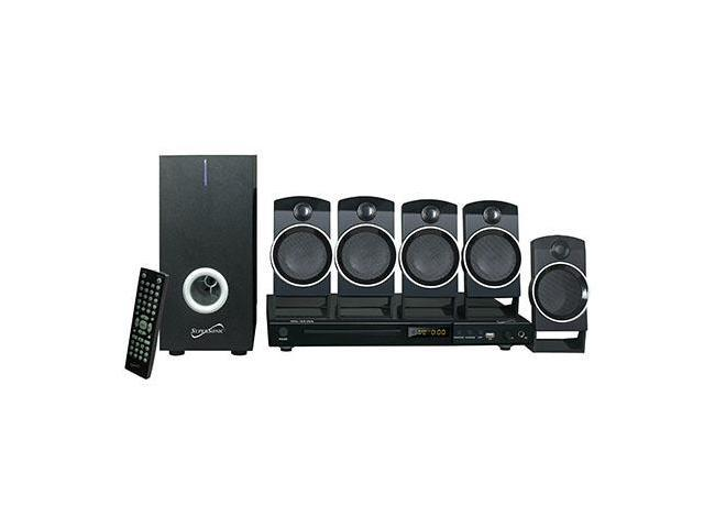 SUPERSONIC SC-37HT 5.1 CH 5.1 Channel Dvd Home Theater System With USB Input & Karaoke Function