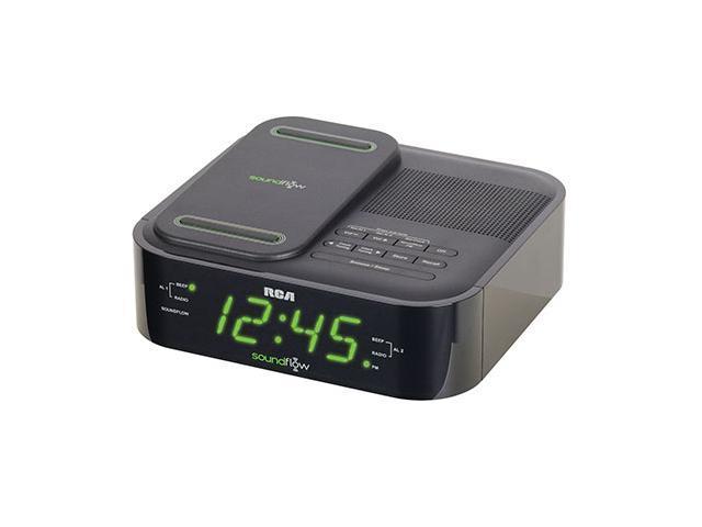 RCA RC250BK Soundflow Clock Radio