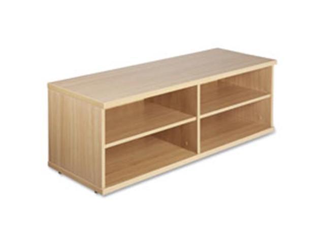Lorell LLR81921 Low Storage Cabinet, 17.75 in. x 47.25 in. x 16.5 in.,Latte