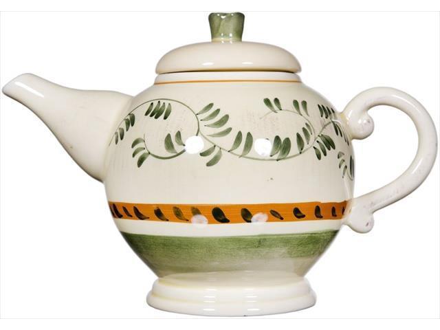 Home Essentials 7155 Amalfi Green 9 In. Tea Pot