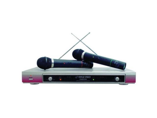 Dual VHF Wireless Microphone System - PDWM2000