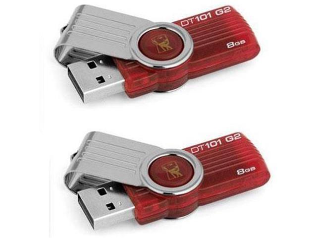 Kingston DT101G2-8GBZ-2P 8GB DataTraveler 101 2 Pack