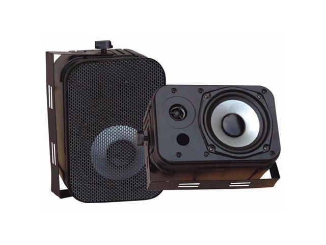 Pyle PD-WR40B 5 1/4 Indoor/Outdoor Waterproof Speakers