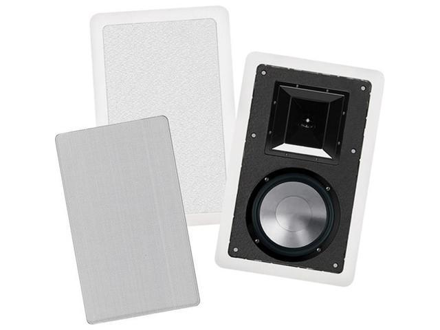 BIC America FH8-W 8 in. 175-Watt In-Wall 2-Way Speakers With Mid-High Frequency Horns