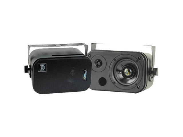SOUND AROUND/PYLE INDUSTRIES PDMN38 3.5 Two-Way Bass Reflex Mini-Monitor System