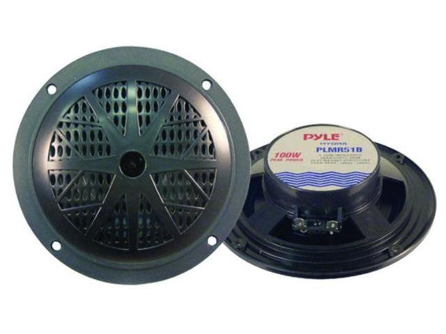 Pyle Marine 5.25in 100W 2 Way Speaker - PLMR51B