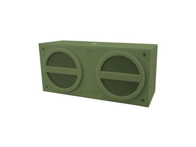 Ihome iBN24QC Bluetooth Mini Speaker Green