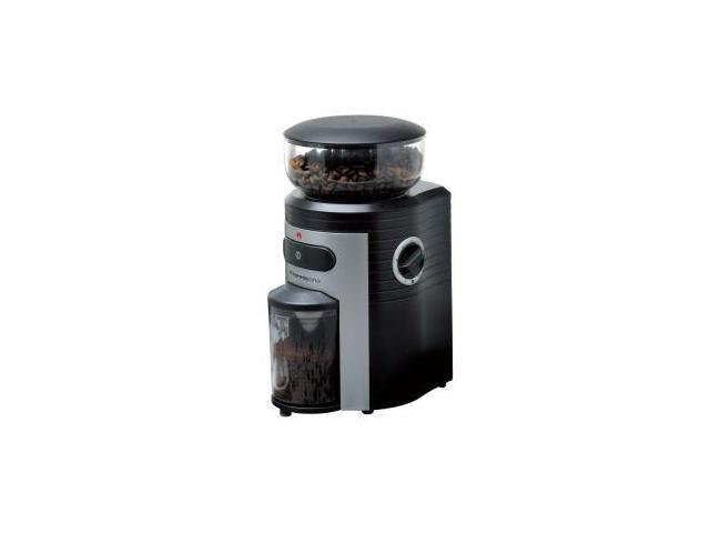 5198 Conical Burr Coffee Grinder - Black Silver
