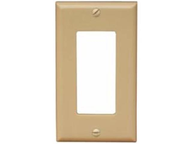 Morris Products 81720 Lexan Wall Plates 1 Gang Midsize Decorator - GFCI Ivory