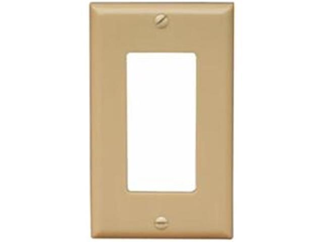 Morris Products 81110 Lexan Wall Plates 1Gang Decorator - GFCI Ivory