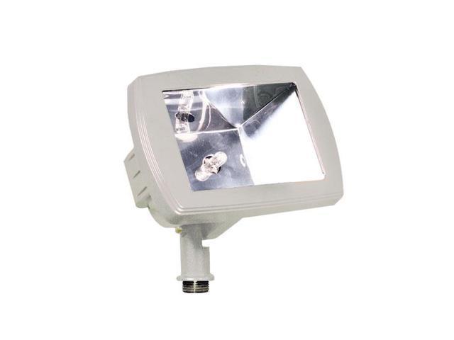 Dabmar Lighting LV105-W Cast Aluminum Directional Area Flood Light, White
