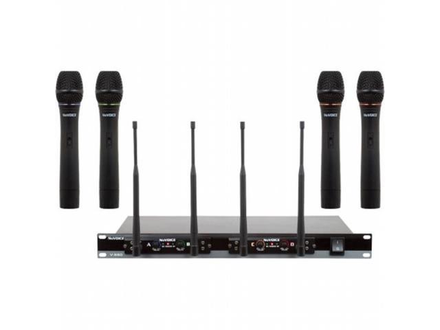 VOCOPRO V580.2 Frequency Set 2 VHF Wireless Microphone System