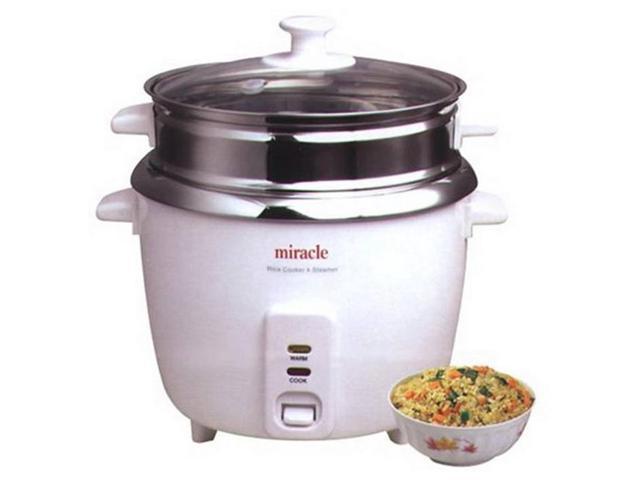 SamsonGreen ME81 Stainless Steel Rice Cooker - Steam