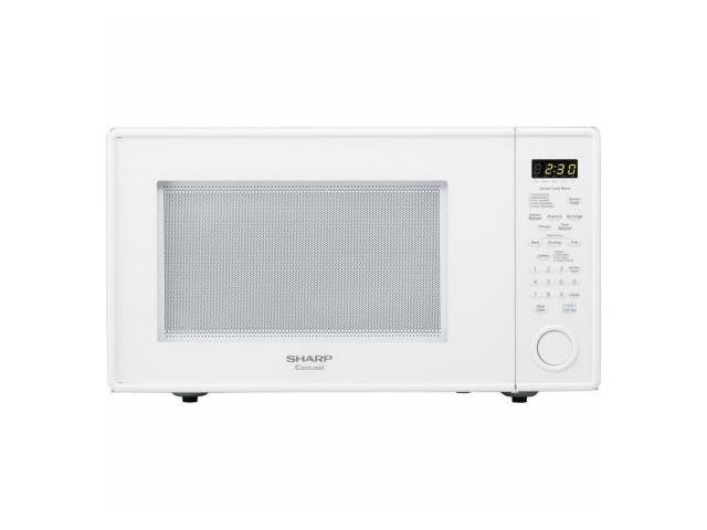 Sharp R559YW 1.8 cu. ft. Countertop Microwave Oven - White