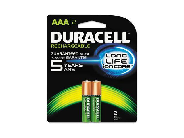 Duracell Rechargeable NiMH Batteries with Duralock Power Preserve Technology