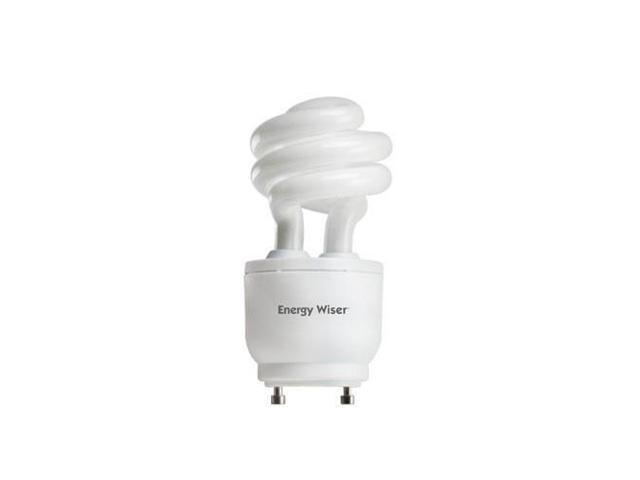Bulbrite 860151-6PK 13-Watt Energy Wiser Dimmable Compact Fluorescent T3 Coil, GU24 Base, Warm White, 6- Bulbs