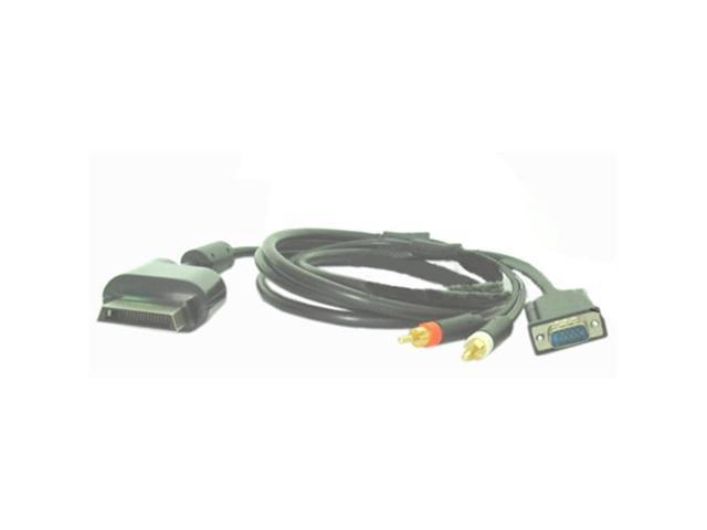 Firstsing XB-3002 Xbox 360 VGA AV cable- Gold-plated-Ni-plated