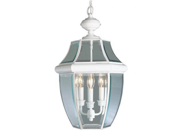 Livex 2355-03 Monterey Outdoor Light- White