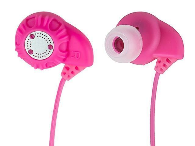 Monoprice 9960 Enhanced Bass Hi-Fi Noise Isolating Earphones - Pink