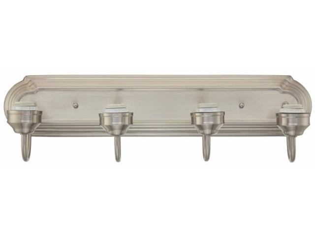 Westinghouse Lighting 6301100 Four Light Brushed Nickel Interior Wall Fixture