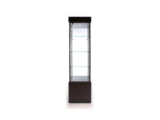 Tecno Display SFL900 Economy Square Tower Case in black