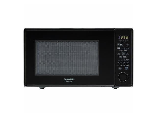 Sharp R559YK 1.8 cu. ft. Countertop Microwave Oven - Black