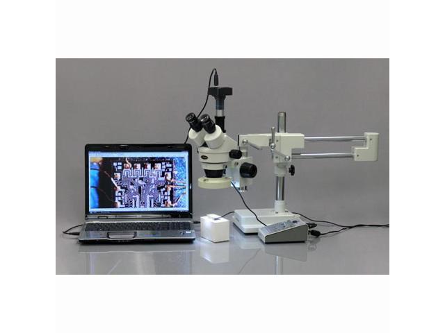 AmScope MU500 5Mp Usb Microscope Digital Camera, Measurement Software