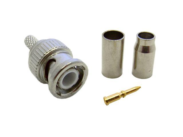 Cable Wholesale RG58 Stranded BNC Connector with 3 Pcs / Set