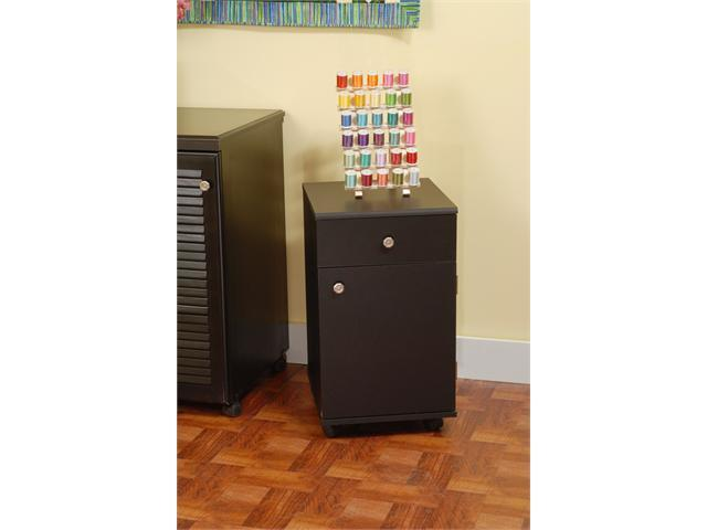 Arrow Sewing Cabinet Suzi Sewing Supply Storage Cabinet with Four Drawer - Black