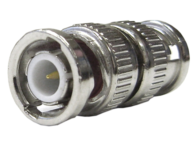 Cable Wholesale Male / Male BNC Barrel Connector (Coupler)