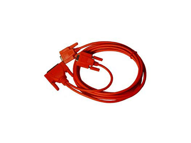Sewell FastLynx Straight Through Serial Cable 10-Feet - Red Colour