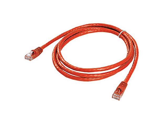 Ziotek CAT6 Patch Cable W/ Boot - 5ft Red