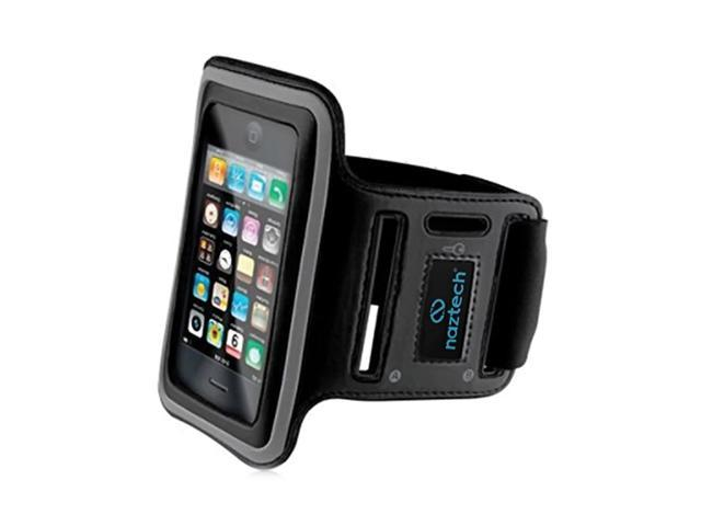 Hypercel Naztech Sports Armband for Apple iPhone 3G 3GS 4 4S And other PDAs- Black