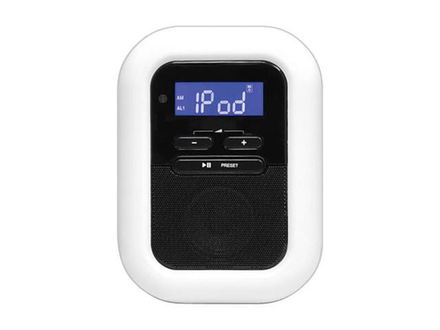 Pyle Home Clock Radio ipod iphone Docking Station With FM Receiver and Dual Alarm Clock