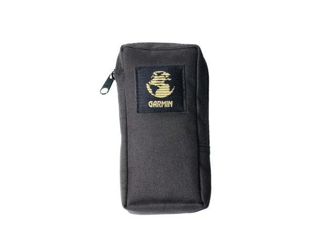 Garmin Nylon Wide Zippered Belt Loop Portable Carrying Case - Black