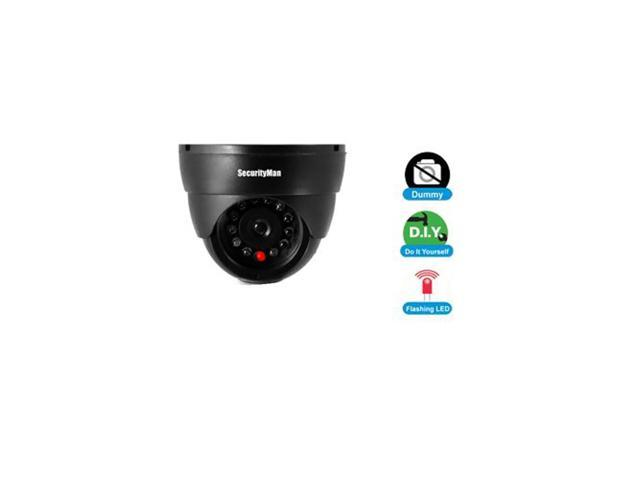 Security Man Dummy Indoor Dome Camera W/Led