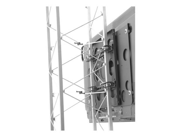 Chief TPS2543 Large Fixed Truss Adjustable Flat Panel Tv Pole Mount