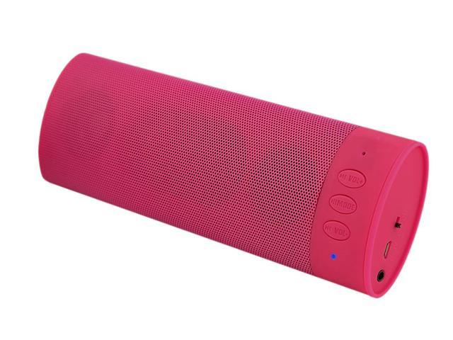 ECO Sound Engineering Bluetooth Stereo Speaker with Mic-Pink