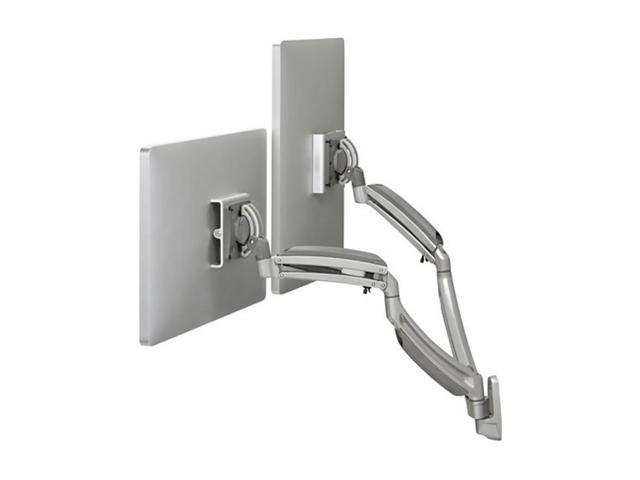 Chief K1 Wall MNT Dual Disp Dual 2l Arms Silver