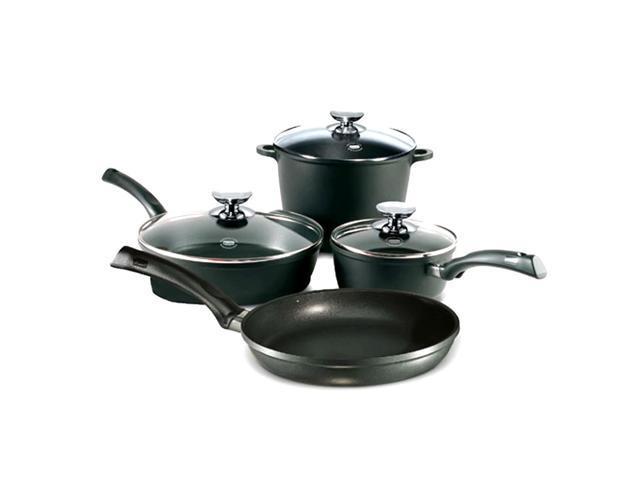 Berndes Home Kitchen SignoCast 7 pcs Cast Aluminum Cookware Set
