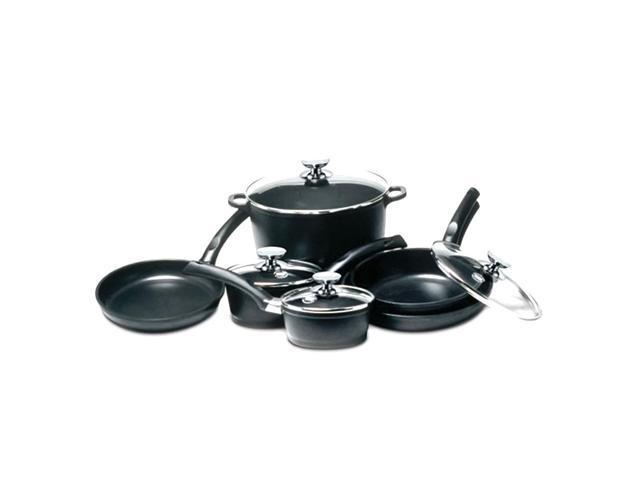 Berndes Home Kitchen SignoCast 10 pc Cast Aluminum Cookware Set
